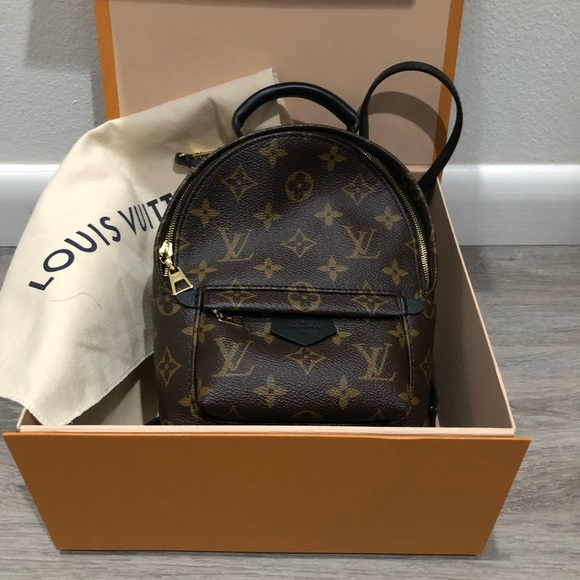 4816c7d7f5dd Louis Vuitton mini Palm Spring backpack